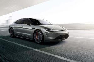 Sony Unveils Its Newest Electric Concept Car Prototype and It's Promising